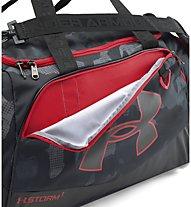 Under Armour UA Undeniable MD Duffel II borsa palestra, Black/Red