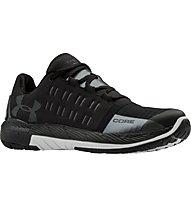 Under Armour Charged Core W - scarpe da ginnastica donna, Black/White