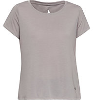 Under Armour Whisperlight SS Folder - T-shirt fitness - donna, Light Brown