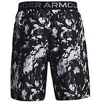 Under Armour UA Woven Adapt S - Trainingshort - Herren, Black/Grey