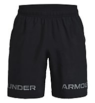 Under Armour UA Woven Graphic WM SRT - pantaloni corti fitness - uomo, Black