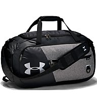Under Armour Undeniable Duffel 4.0 (M) - borsone sportivo, Black/Grey