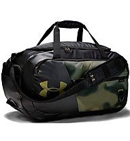 Under Armour Undeniable Duffel 4.0 (M) - borsone sportivo, Black/Green
