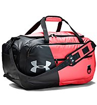 Under Armour Undeniable Duffel 4.0 (M) - borsone sportivo, Black/Light Red