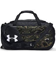 Under Armour Undeniable Duffel 4.0 (M) - borsone sportivo, Black/Green/Brown