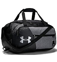 Under Armour Undeniable Duffel 4.0 (S) - borsone sportivo, Black/Grey