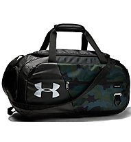 Under Armour Undeniable Duffel 4.0 (S) - borsone sportivo, Black/Camouflage