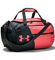 Under Armour Undeniable Duffel 4.0 (S) - borsone sportivo, Black/Light Red