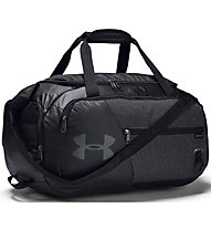 Under Armour Undeniable Duffel 4.0 (S) - borsone sportivo, Black/Dark Grey