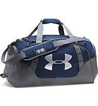 Under Armour Undeniable Duffle 3.0 - borsa sportiva, Grey/Blue