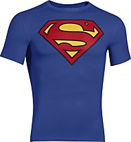 Under Armour UA Short Sleeve Compression Shirt, Superman (Royal)