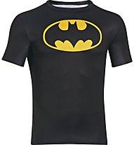 Under Armour UA Short Sleeve Compression Shirt, Batman (Black)