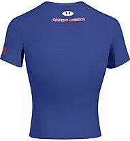 Under Armour UA Short Sleeve Compression Shirt, Captain America (Royal)