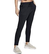 Under Armour Unstoppable Move Light Open Hem - pantaloni fitness - donna, Black