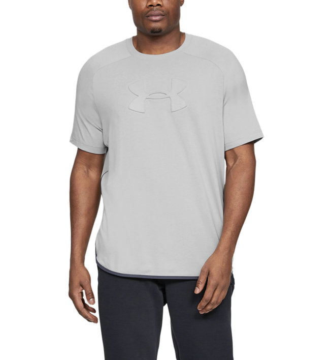Under Armour Unstoppable Move Tee - T-Shirt - Herren, Grey
