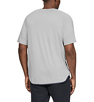 Under Armour Unstoppable Move - T-shirt - uomo, Grey