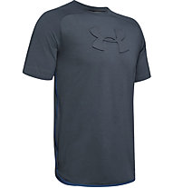 Under Armour Unstoppable Move - T-shirt - uomo, Dark Grey