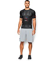Under Armour Vader Star Wars Kompressionsshirt Herren, Black