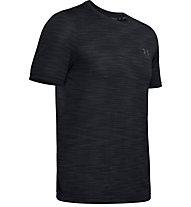 Under Armour Vanish Seamless - T-Shirt - Herren, Black