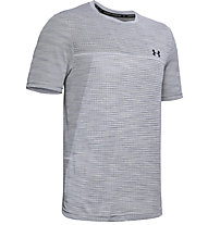 Under Armour Vanish Seamless - T-shirt fitness - uomo, Light Grey