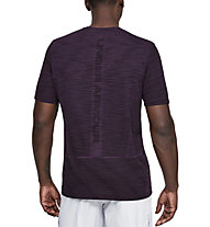 Under Armour Vanish Seamless - T-shirt fitness - uomo, Violet