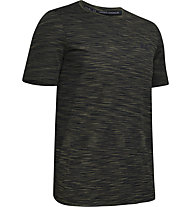 Under Armour Vanish Seamless - T-shirt fitness - uomo, Dark Green