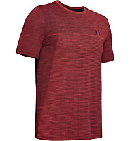 Under Armour Vanish Seamless - T-shirt fitness - uomo, Red