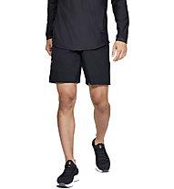 Under Armour Vanish Woven Novelty - pantaloni fitness - uomo, Black/Red