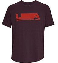 Under Armour Versa Tee - T-shirt fitness - uomo, Dark Red