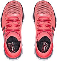 Under Armour W Speedform Gemini 2.1 - Neutral Laufschuh Damen, Light Red