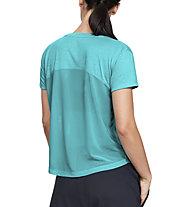 Under Armour Whisperlight Mesh - T-shirt fitness - donna, Azure
