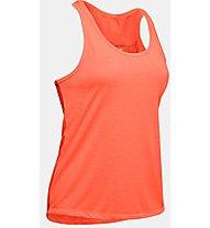 Under Armour Whisperlight Tie Back Tank - Top - Damen, Orange