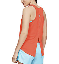 Under Armour Whisperlight Tie Back - top fitness - donna, Orange