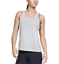 Under Armour Whisperlight Tie Back - top fitness - donna, Grey