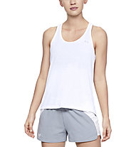 Under Armour Whisperlight Tie Back - top fitness - donna, White