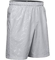 Under Armour Woven Graphic Emboss - pantaloni corti fitness - uomo, Grey