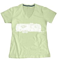 United By Blue Airstream T-shirt donna, Lime