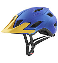 Uvex Access - Radhelm All Mountain, Blue/Yellow
