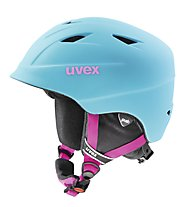 Uvex Airwing 2 Pro - casco da sci - bambino, Light Blue