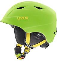 Uvex Airwing 2 Pro - casco da sci - bambino, Green