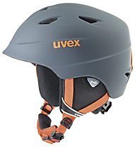 Uvex Airwing 2 Pro - Skihelm Kinder, Titanium-Orange Mat
