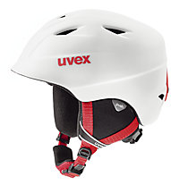 Uvex Airwing 2 Pro - Skihelm Kinder, White/Red