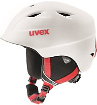 Uvex Airwing 2 Pro - Skihelm - Kinder, White/Red