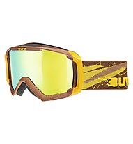 Uvex Apache II, Brown/Yellow Mat
