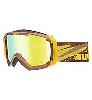 Uvex Apache II, Brown/Yellow