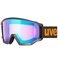 Uvex Athletic CV - Skibrille, Black/Orange