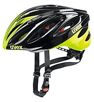 Uvex Boss Race - Radhelm, Black/Yellow