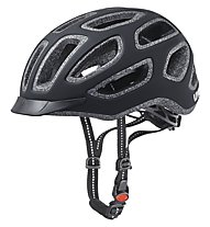 Uvex City E - casco bici, Black