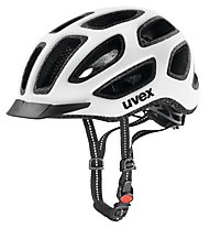 Uvex City E - casco bici, White