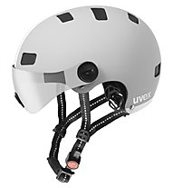 Uvex City V - casco bici, Grey